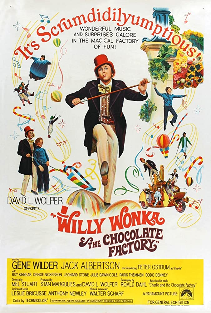 willy wonka och chokladfabriken 1971