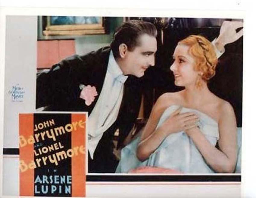 John Barrymore and Karen Morley in Arsène Lupin (1932)