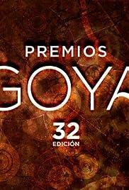 Premios Goya 32 edición Poster
