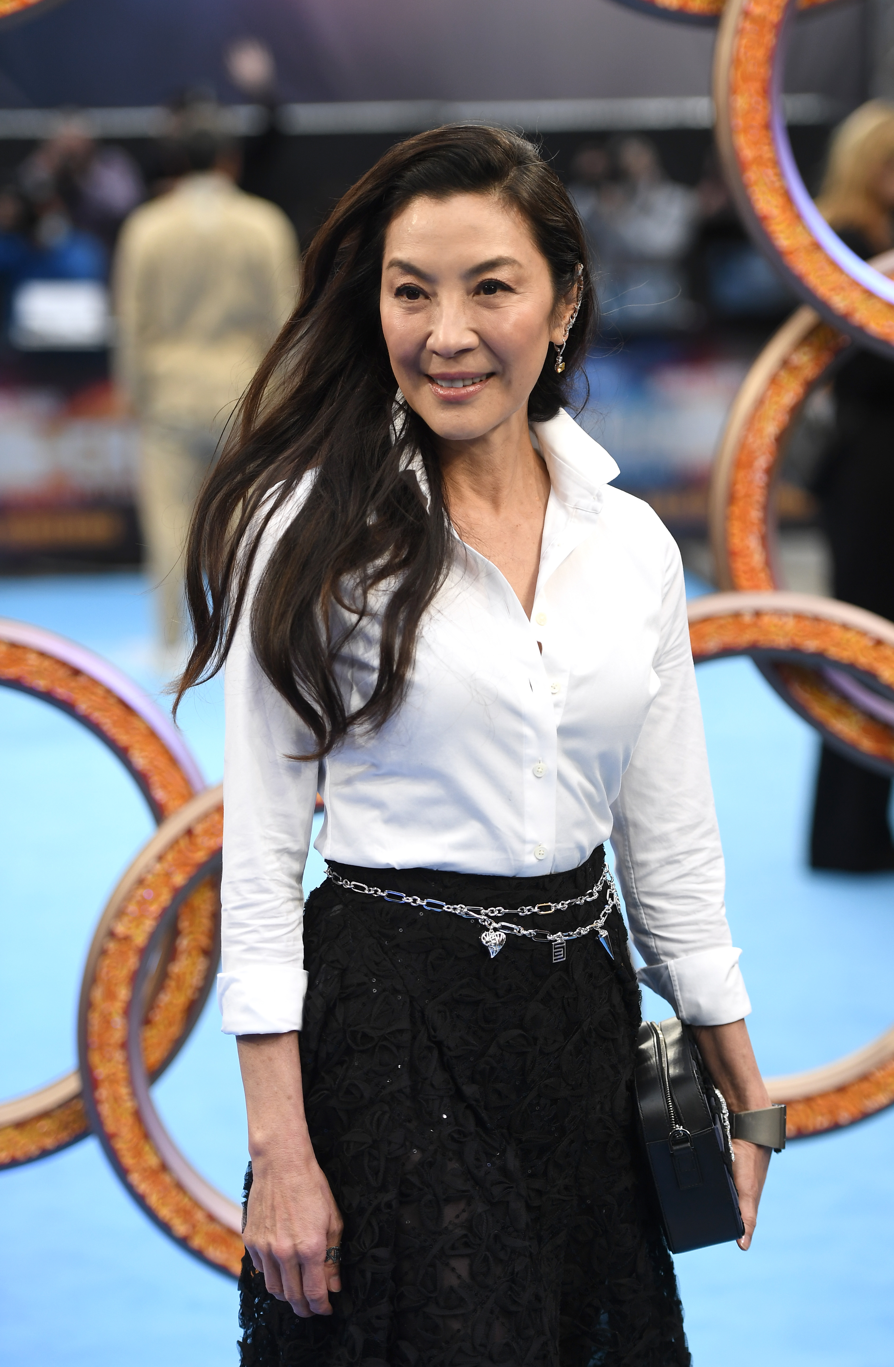 Michelle Yeoh at an event for Shang-Chi and the Legend of the Ten Rings (2021)
