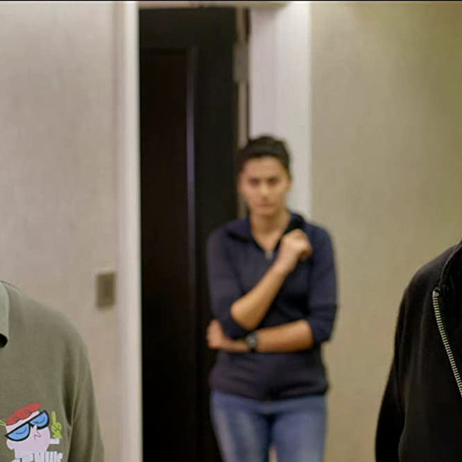 Anupam Kher, Akshay Kumar, and Taapsee Pannu in Naam Shabana (2017)