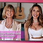 Olivia Newton-John and Chloe Lattanzi in RuPaul's Drag Race Down Under (2021)