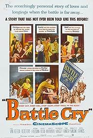 Tab Hunter, Anne Francis, Dorothy Malone, Nancy Olson, and Aldo Ray in Battle Cry (1955)