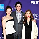 Marguerite Moreau, Elizabeth Tulloch, and Adam Christian Clark at an event for Caroline and Jackie (2012)
