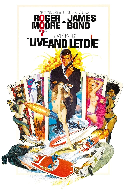 Plakat filma James Bond: Live and Let Die (1973)