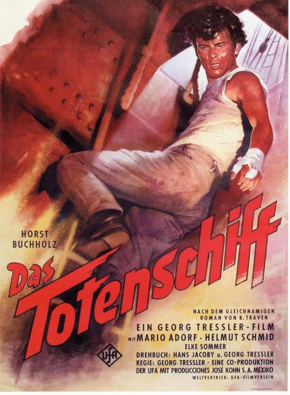 Horst Buchholz in Das Totenschiff (1959)