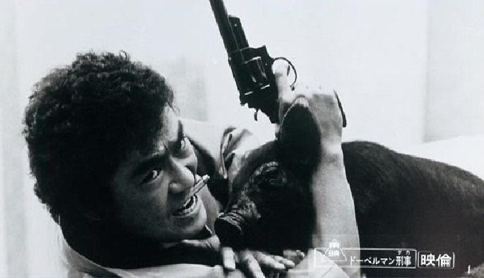 Shin'ichi Chiba in Doberuman deka (1977)