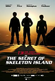 The Three Investigators and the Secret of Skeleton Island Poster