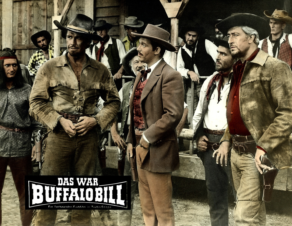 Buffalo Bill, Hero of the Far West – Μπουφαλο Μπιλ, ο ήρωας της Άγριας Δύσης