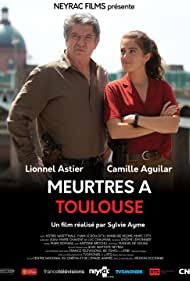 Lionnel Astier and Camille Aguilar in Meurtres à Toulouse (2020)