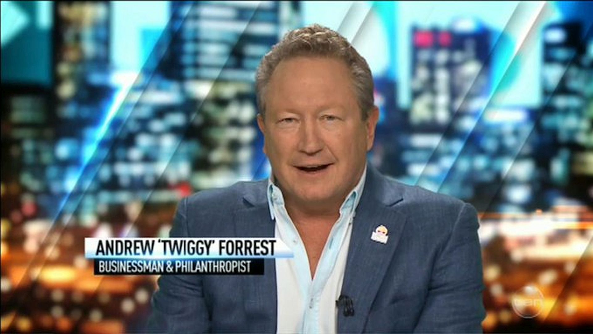 Andrew Forrest in The 7PM Project (2009)