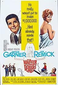 Jim Backus, James Garner, Lee Remick, Phil Harris, and Chill Wills in The Wheeler Dealers (1963)