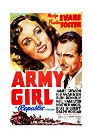 Army Girl Poster