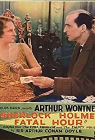 Jane Welsh and Arthur Wontner in The Sleeping Cardinal (1931)
