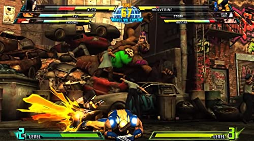 Marvel Vs. Capcom 3: Fate Of Two Worlds Gameplay 4