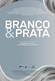 Branco & Prata Poster