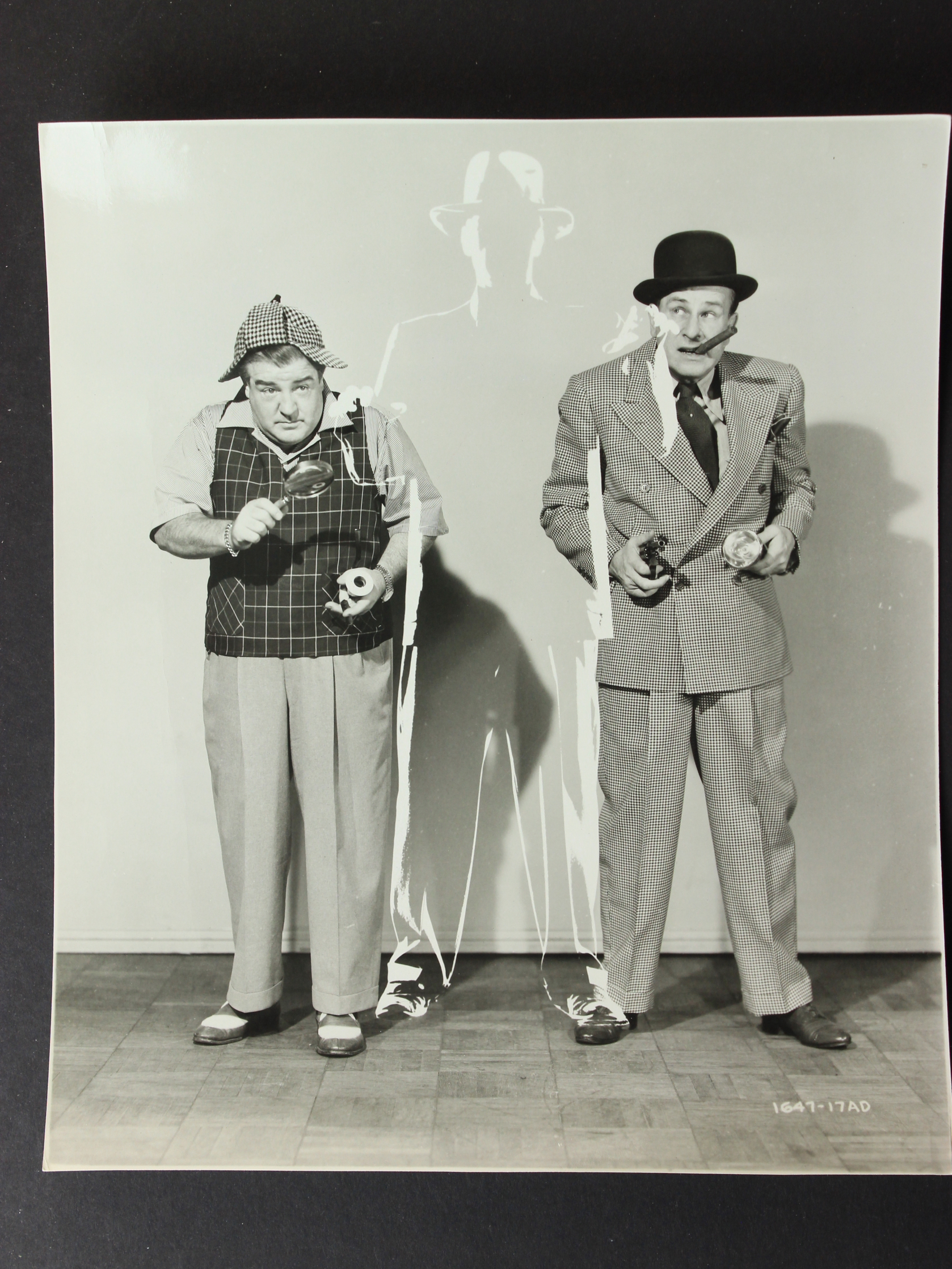 Bud Abbott and Lou Costello in Bud Abbott and Lou Costello Meet the Invisible Man (1951)