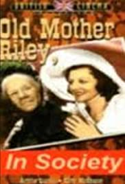 Old Mother Riley in Society Poster