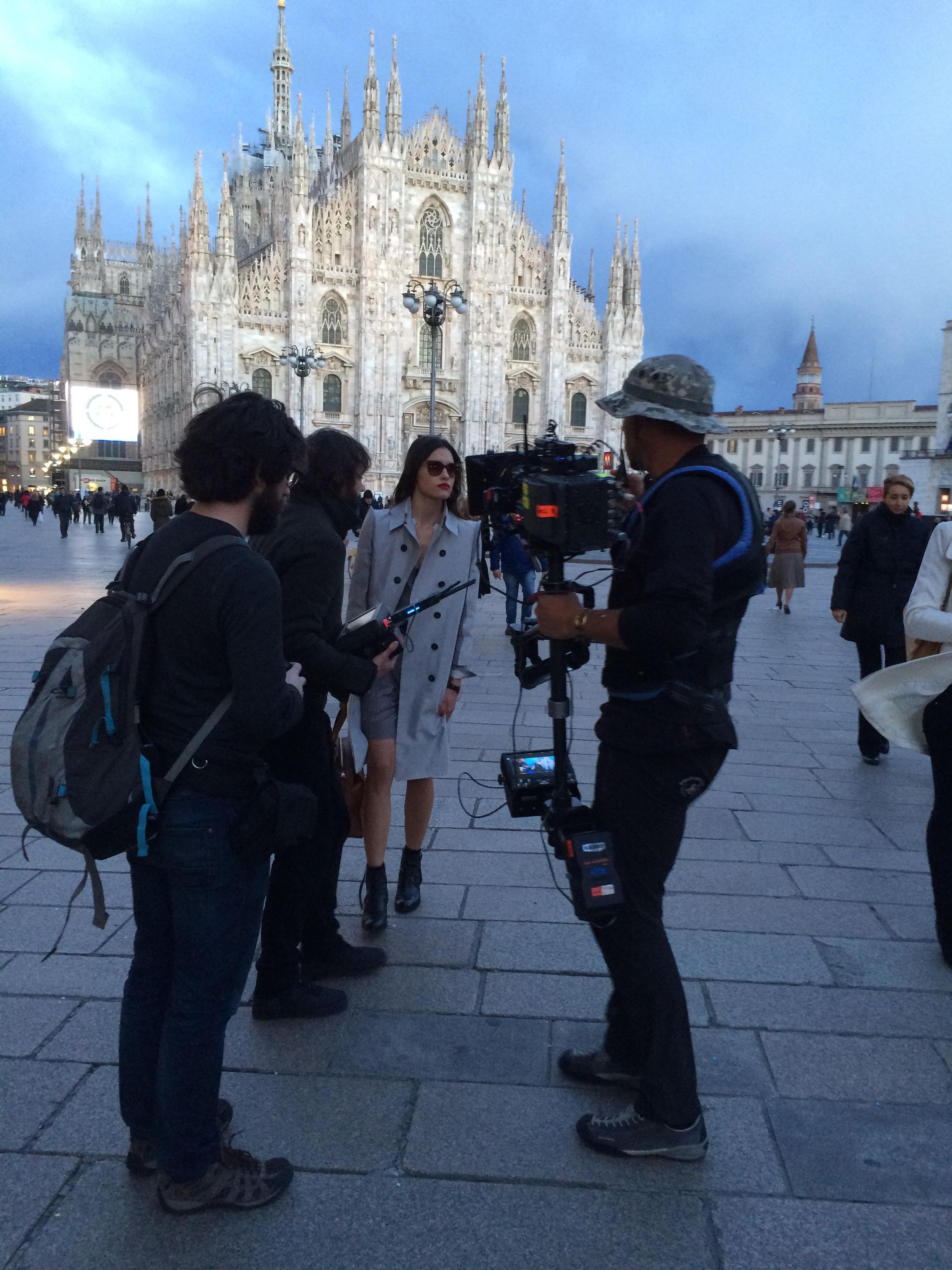 """Armani"" shooting milano 2016"