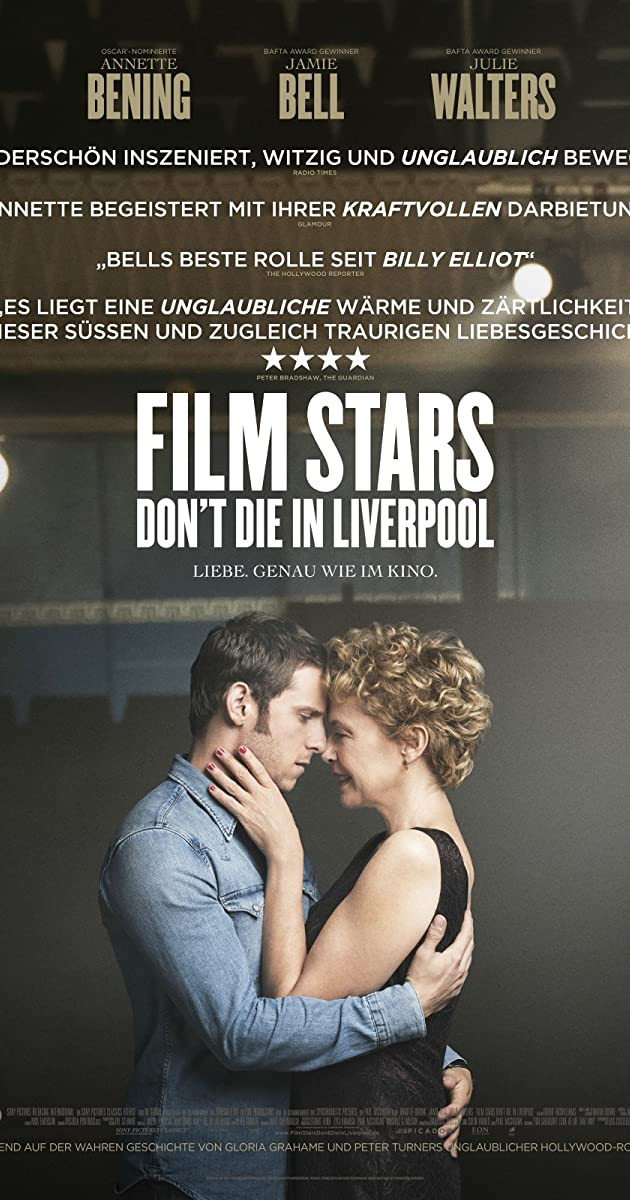 Subtitle of Film Stars Don't Die in Liverpool