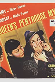 Ralph Bellamy, Margaret Lindsay, and Anna May Wong in Ellery Queen's Penthouse Mystery (1941)
