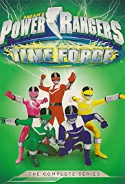 Power Rangers Time Force Poster