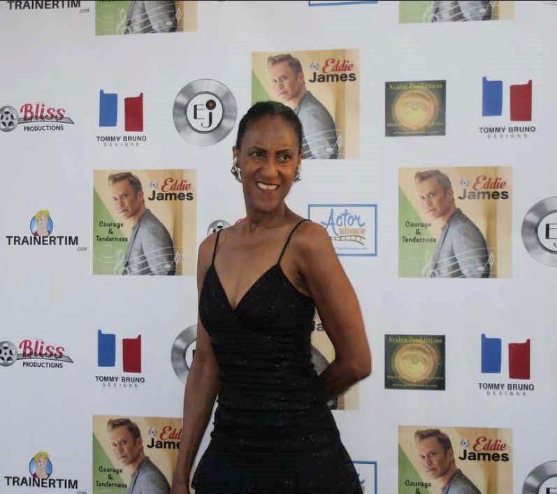 Sonia Jackson at Eddie James Release Party