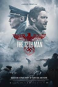 Jonathan Rhys Meyers and Thomas Gullestad in Den 12. mann (2017)