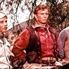 Robert Conrad, Jan-Michael Vincent, and Roy Jenson in The Bandits (1967)