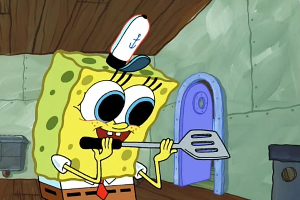 Spongebob Squarepants Fear Of A Krabby Pattyshell Of A Man Tv