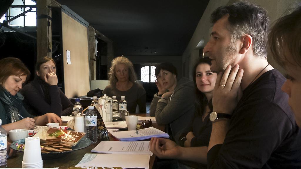Cristi Puiu in Trois exercices d'interprétation (2013)
