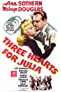 Three Hearts for Julia (1943) Poster