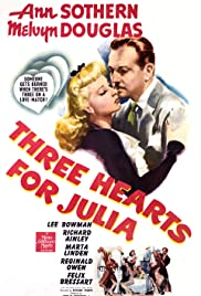 Three Hearts for Julia Poster