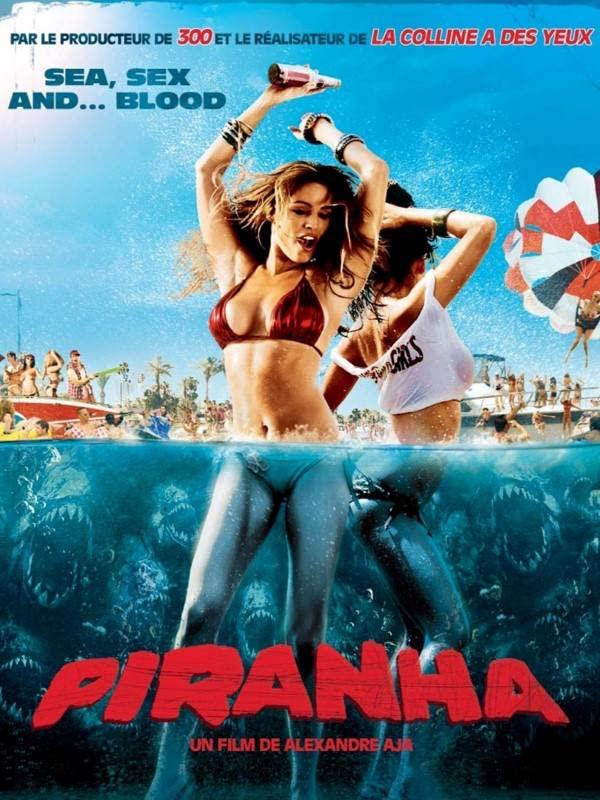 Piranha 3D 2010 Hindi Dual Audio 720p   480p Bluray x264 Esub