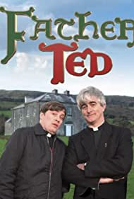 Dermot Morgan and Ardal O'Hanlon in Father Ted (1995)