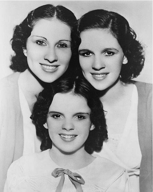 Judy Garland, Mary Jane Gumm, and Virginia Gumm