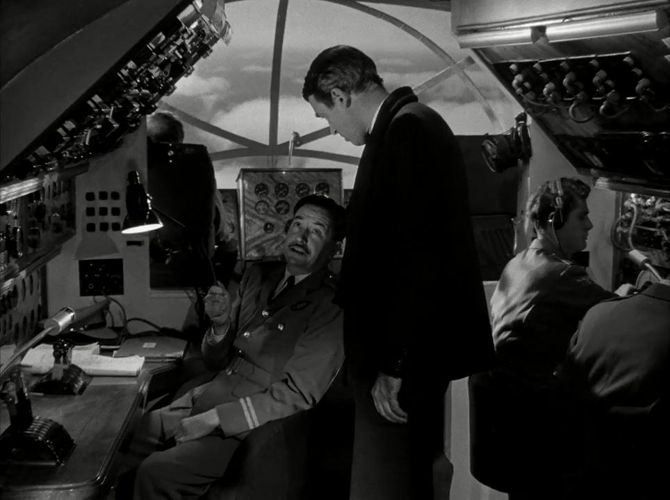 James Stewart, Hector MacGregor, and Pete Murray in No Highway (1951)
