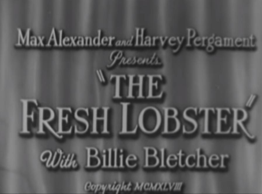 The Fresh Lobster (1948)