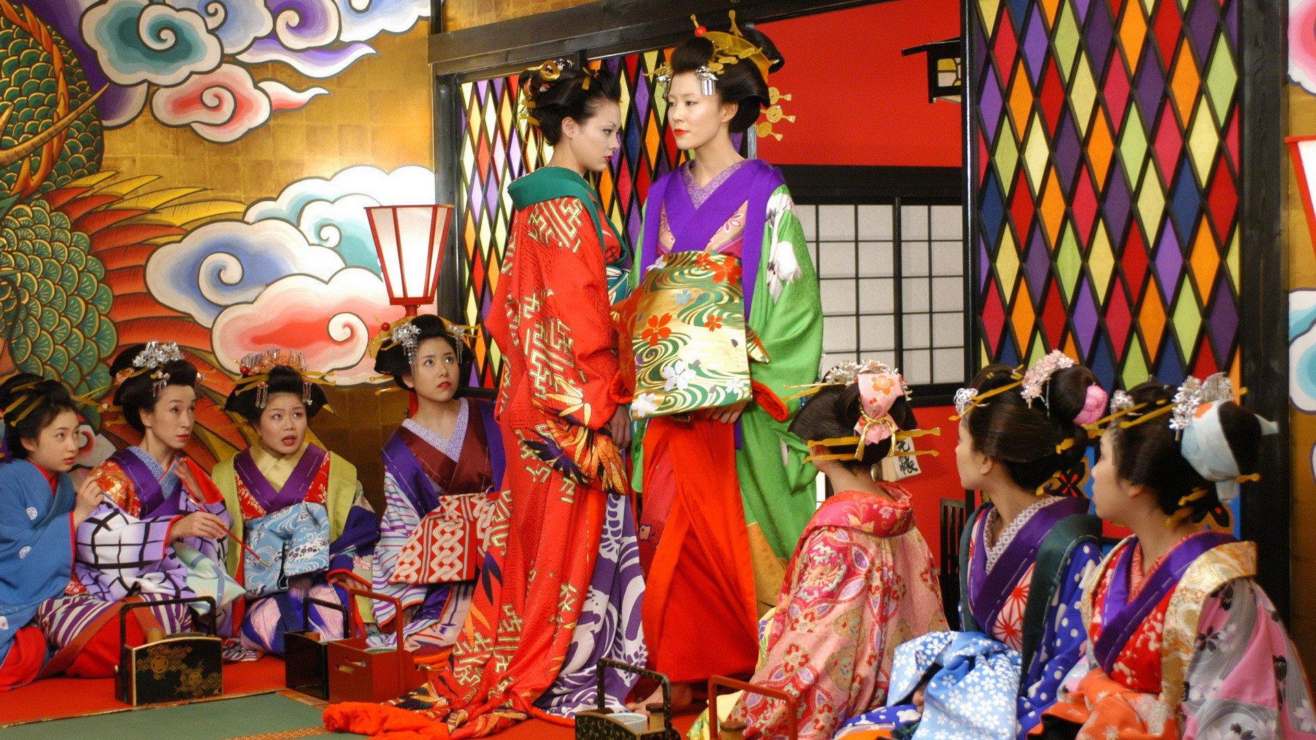 Yoshino Kimura and Anna Tsuchiya in Sakuran (2006)