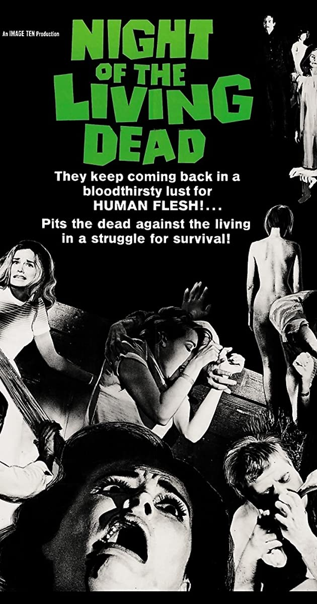 Subtitle of Night of the Living Dead