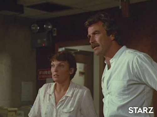 Tom Selleck and Tyne Daly in Magnum, P.I. (1980)