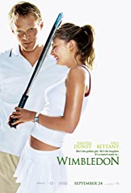 Kirsten Dunst and Paul Bettany in Wimbledon (2004)