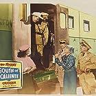 Roy Rogers, Dale Evans, Pinky Lee, and Leonard Penn in South of Caliente (1951)