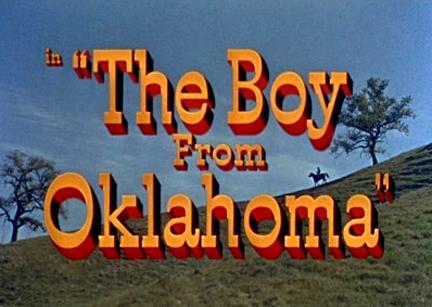 The Boy from Oklahoma (1954)