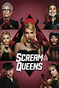 Jamie Lee Curtis, Lea Michele, Emma Roberts, Abigail Breslin, Glen Powell, Keke Palmer, and Billie Lourd in Scream Queens (2015)