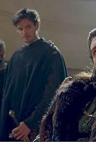 Daniel Sharman, Tam Mutu, and Bradley James in Medici (2016)