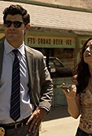Allison Scagliotti and Damon Dayoub in Stitchers (2015)