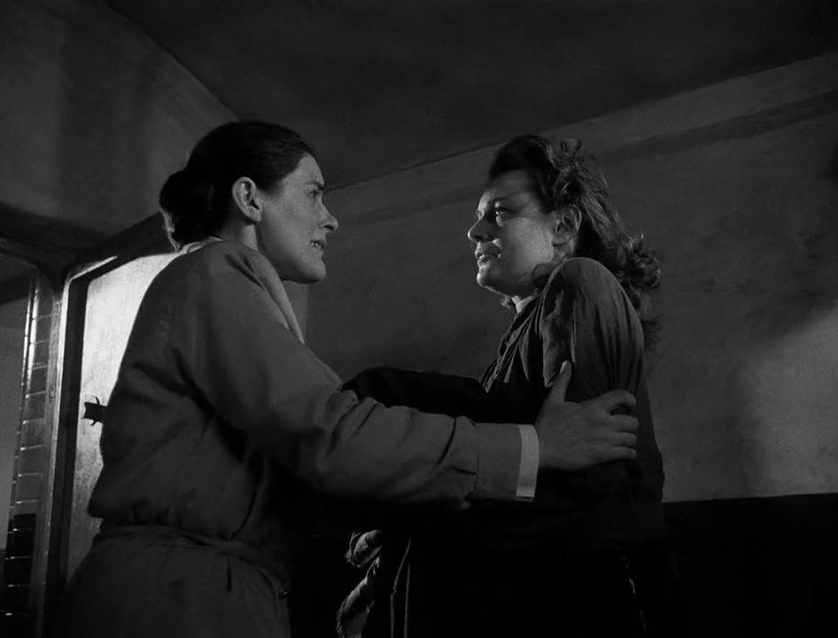 Anna Neagle and Marianne Walla in Odette (1950)