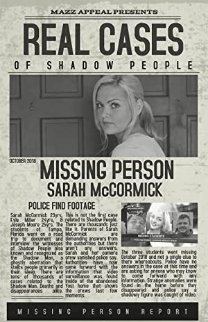 Real Cases of Shadow People: The Sarah McCormick Story Poster