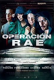 Operación RAE Poster